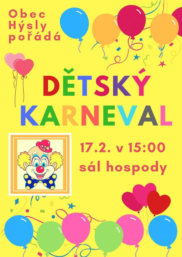 Dětský karneval 2019