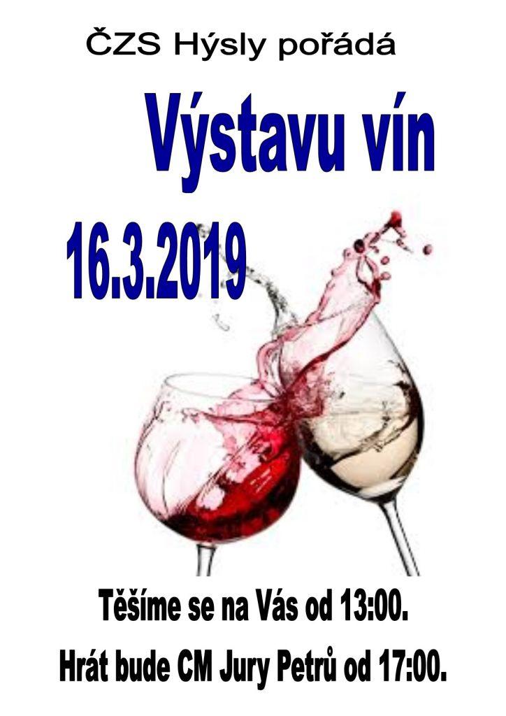 Výstava vín 2019