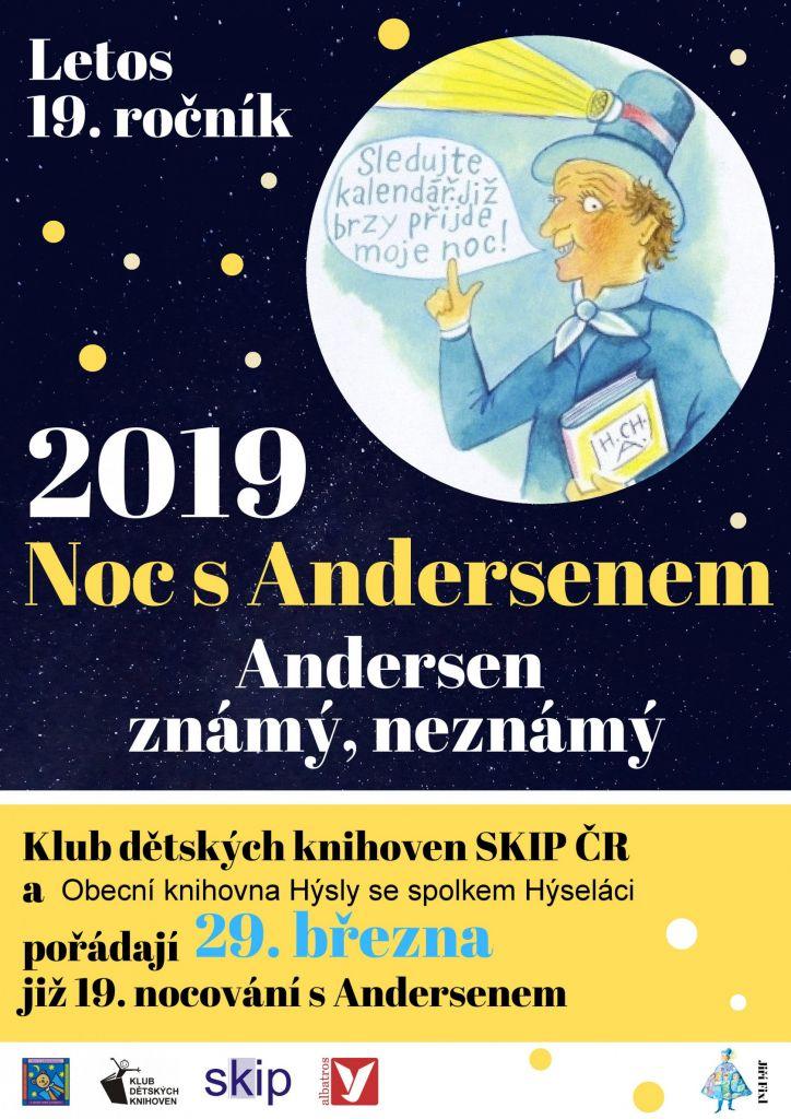 Noc s Andersenem 2019